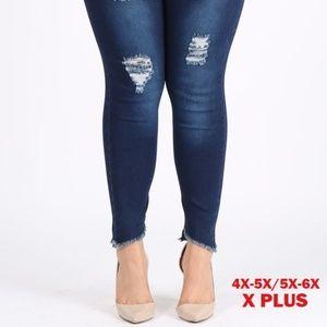 4X/5X-5X/6X Super Plus Size Jeggings